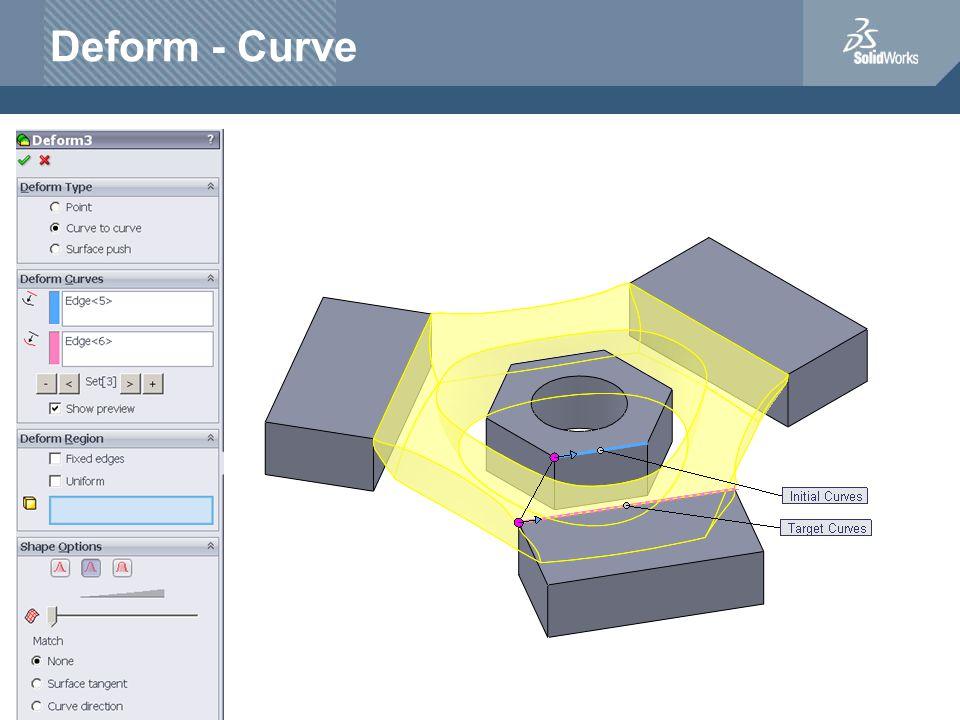 Deform - Curve