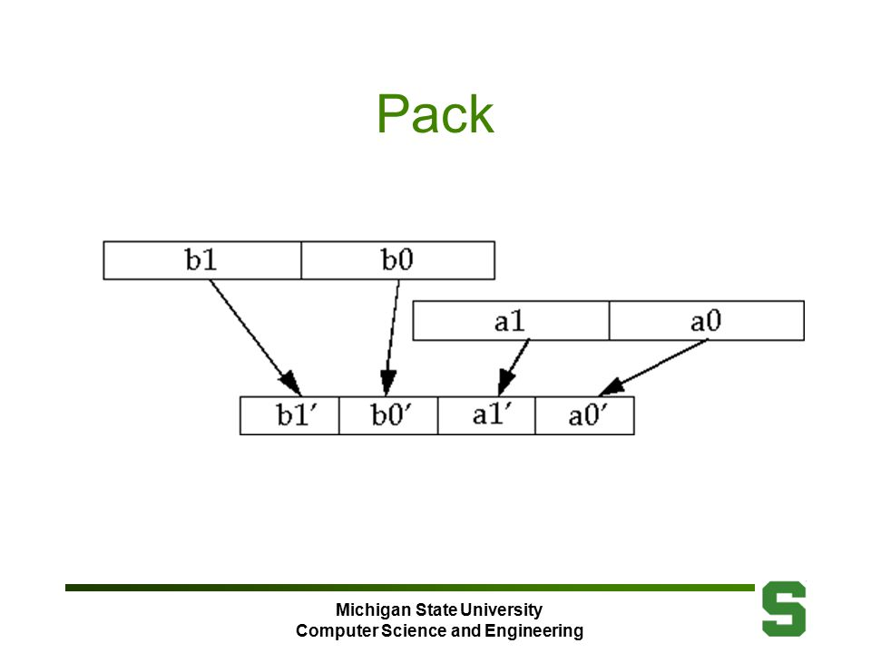 Michigan State University Computer Science and Engineering Pack