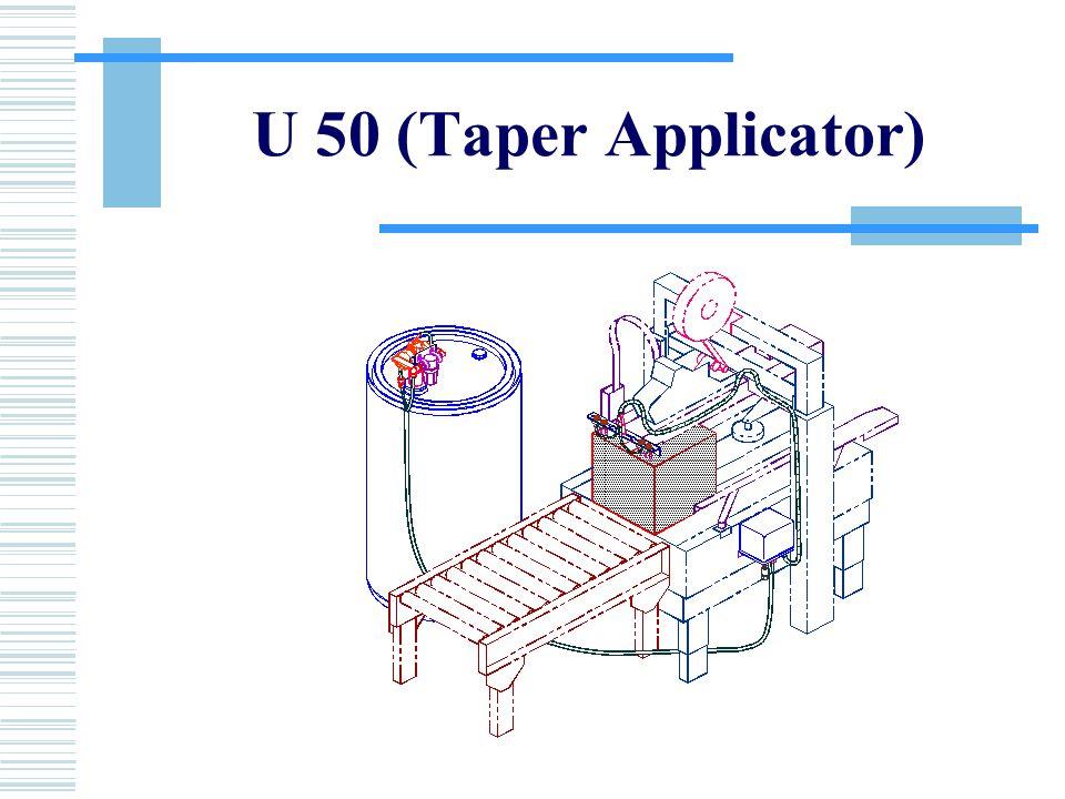U 50 (Taper Applicator)