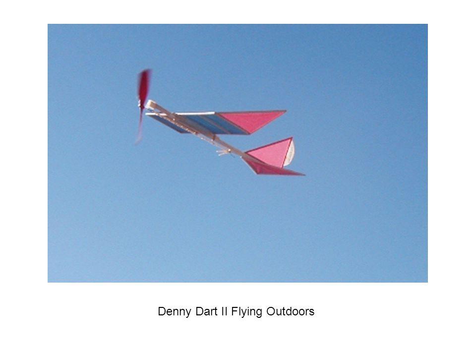 Denny Dart II Flying Outdoors