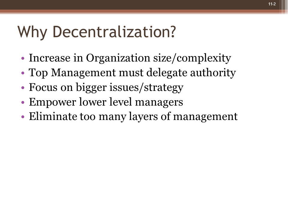 11-2 Why Decentralization.