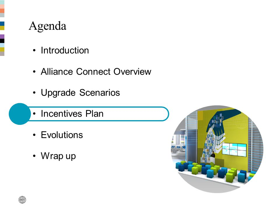 Agenda Introduction Alliance Connect Overview Upgrade Scenarios Incentives Plan Evolutions Wrap up