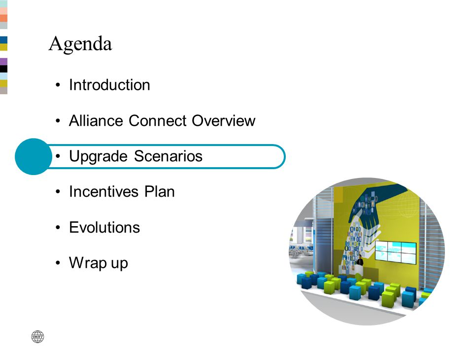 Upgrade is mandatory & to be completed before end 2011 Why upgrade to Alliance Connect.