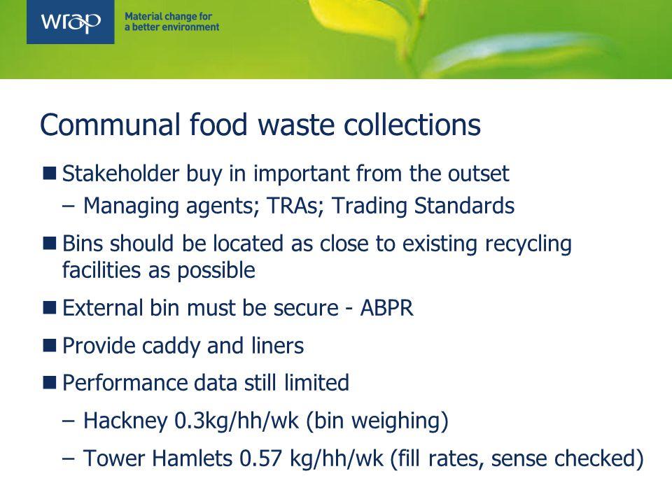 Chute recycling scheme