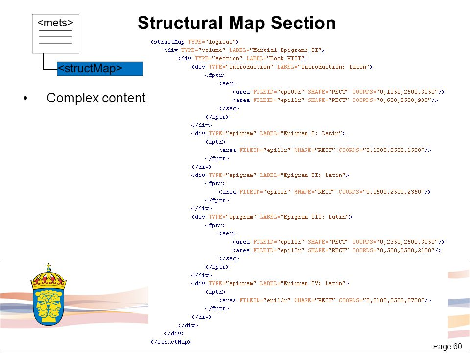 Page 60 Structural Map Section Complex content