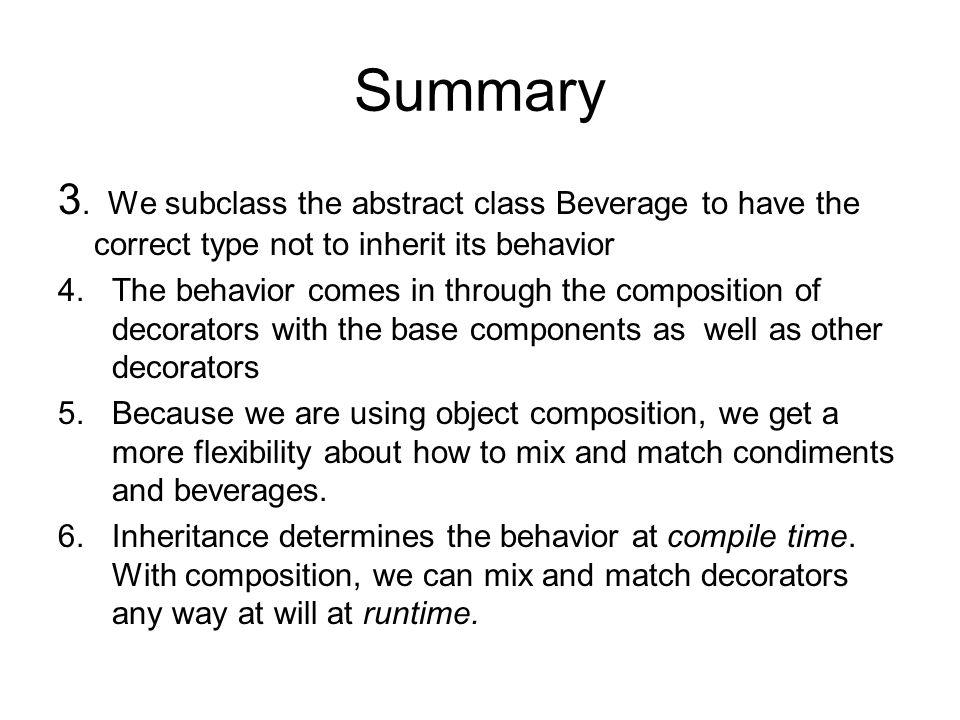Summary 3.