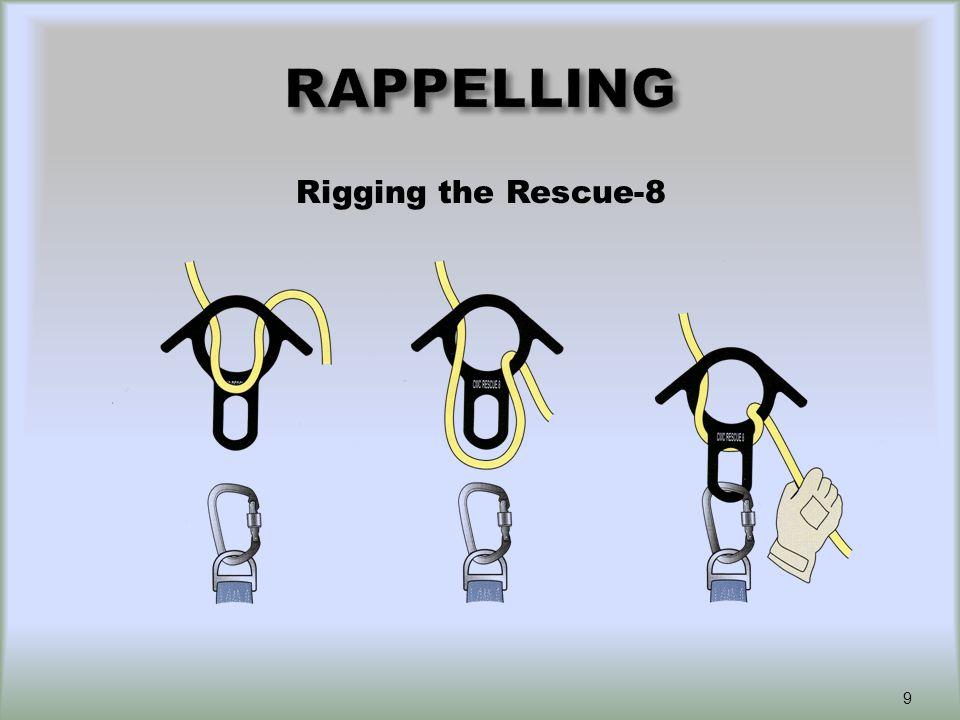 Rescue-8 Friction Methods Single wrapDouble wrap 10