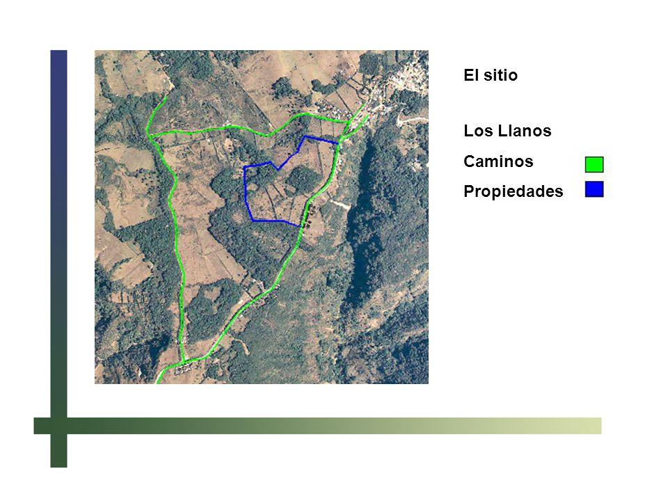 El sitio Los Llanos Caminos Propiedades