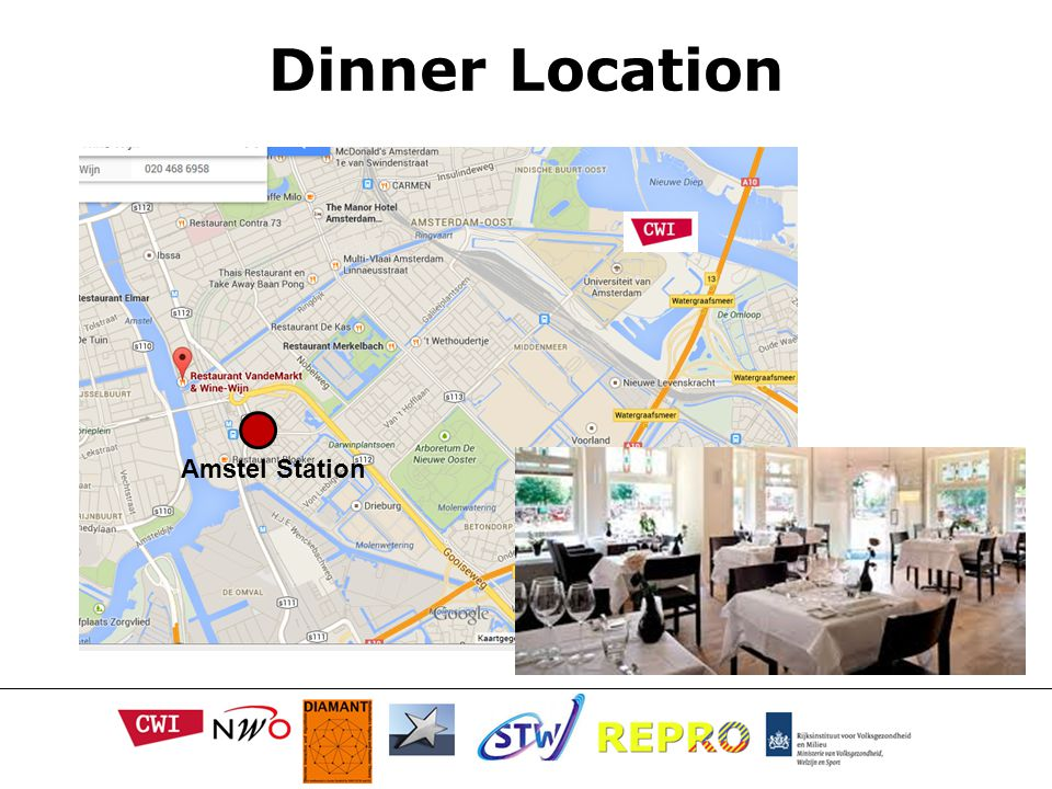 Dinner Location Amstel Station
