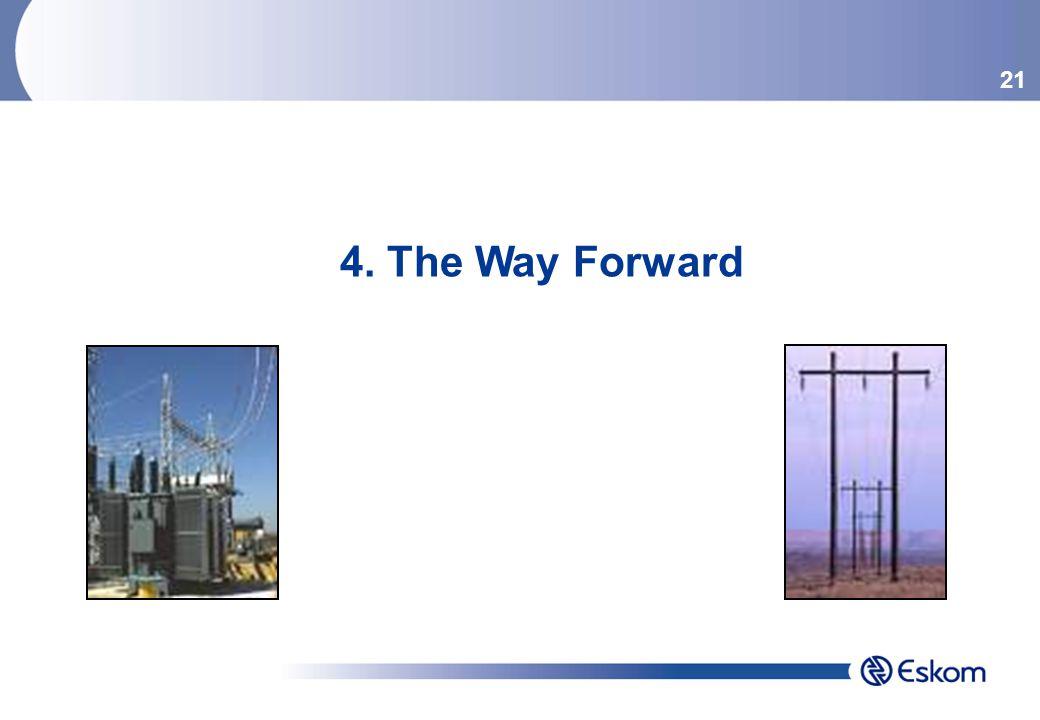21 4. The Way Forward