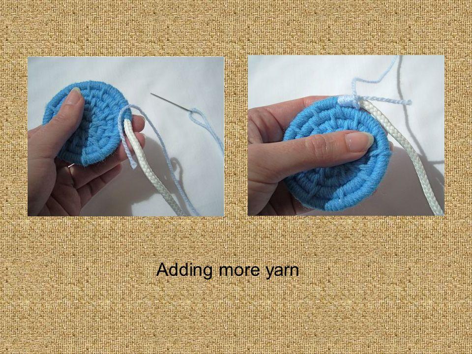 Adding more yarn