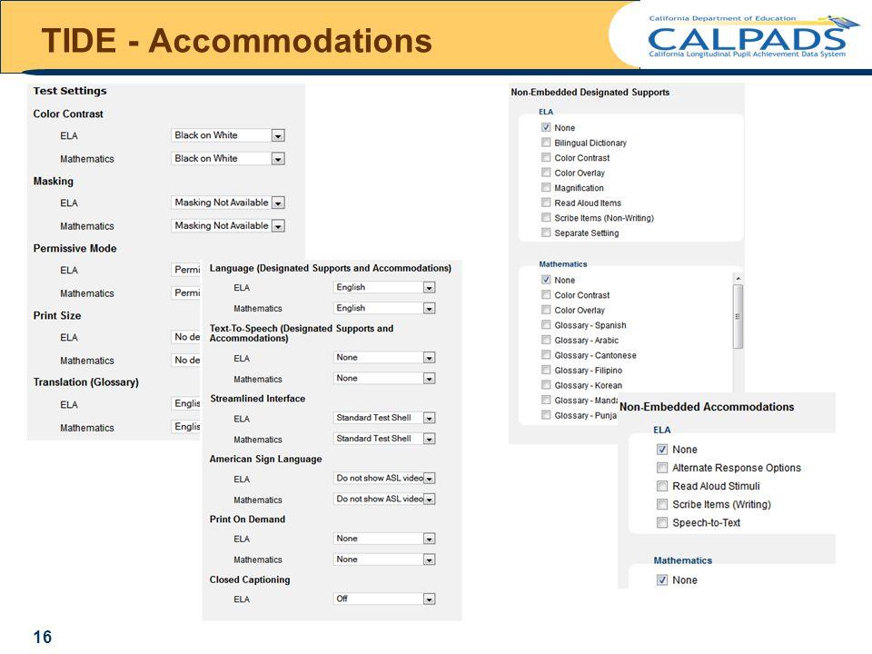 TIDE - Accommodations 16