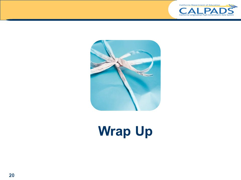 Wrap Up 20