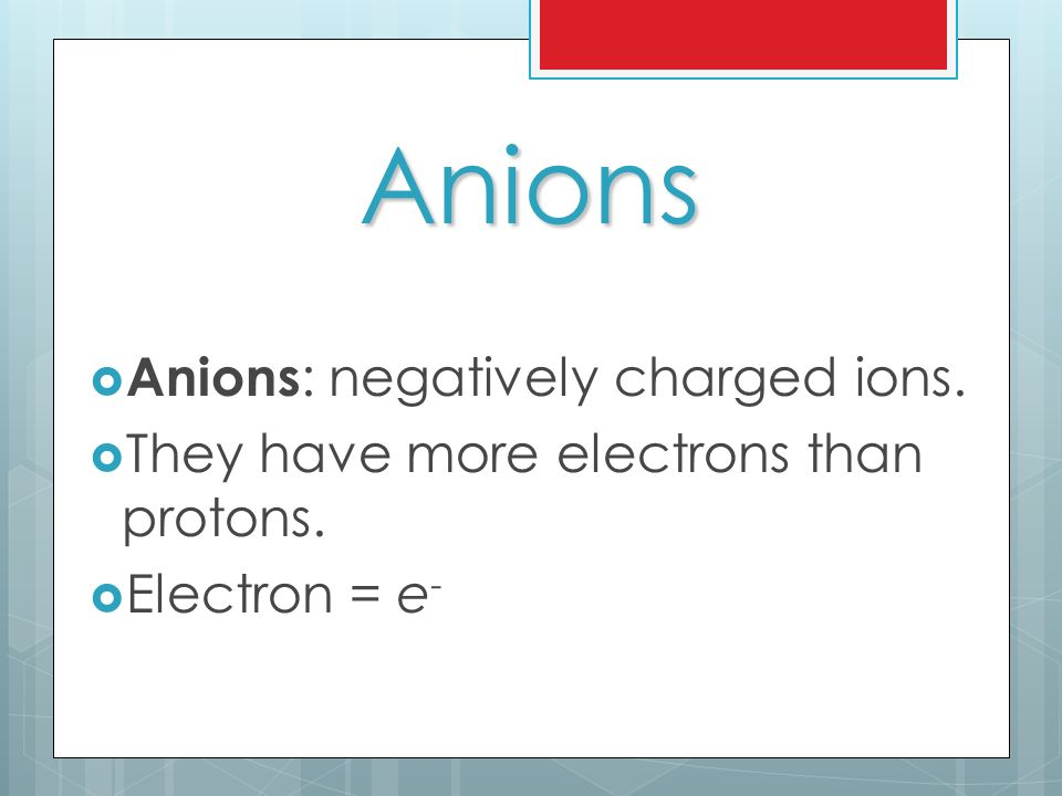 ION SHEET  The following handout gives you a lot of information on ions  Name of the ion  Symbol for the ion  Charge associated with the ion