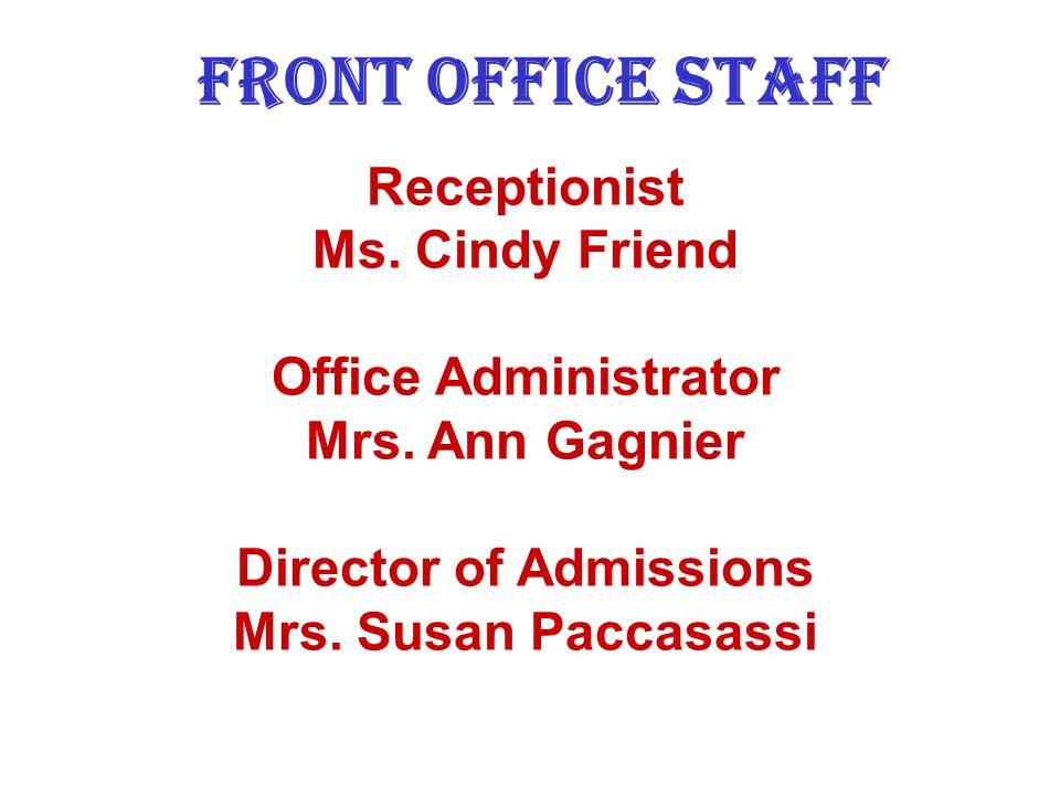 Assistant Principal Ms. Nancy Puckett