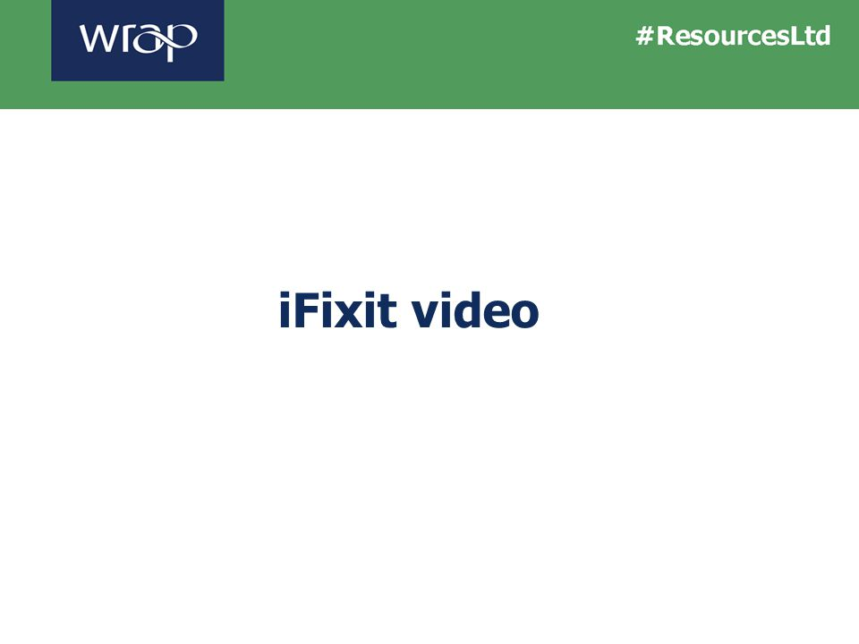 iFixit video