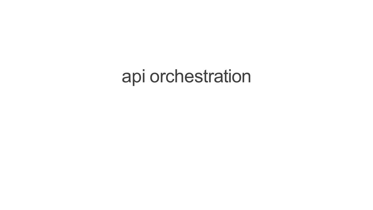 api orchestration