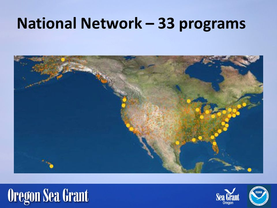 National Network – 33 programs