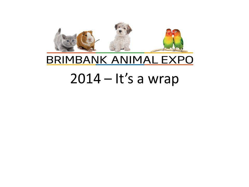 2014 – It's a wrap