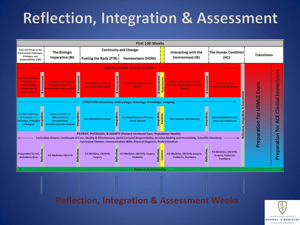 Reflection, Integration & Assessment Weeks