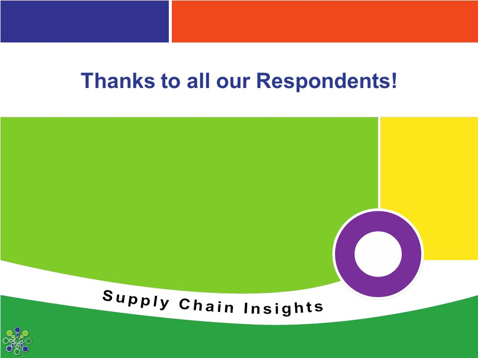 Thanks to all our Respondents!