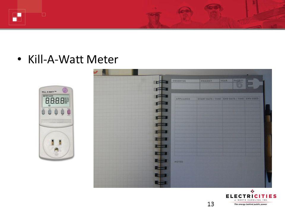 Kill-A-Watt Meter 13
