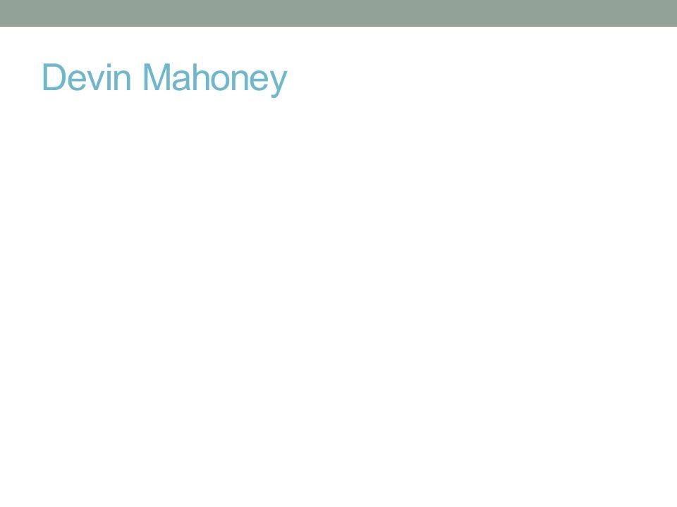 Devin Mahoney