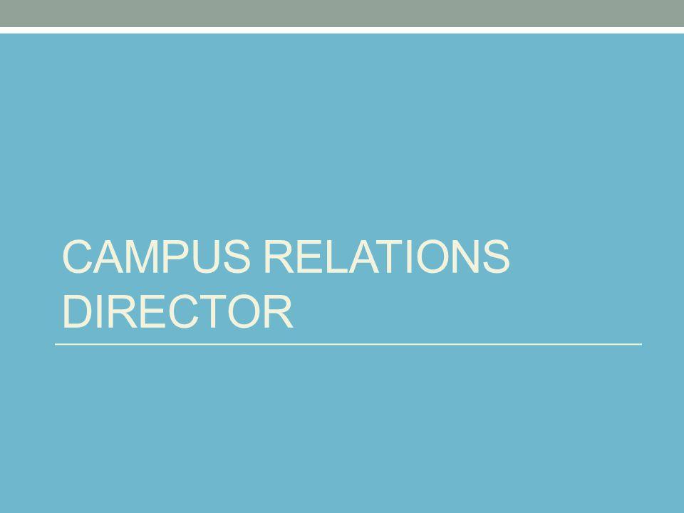 CAMPUS RELATIONS DIRECTOR