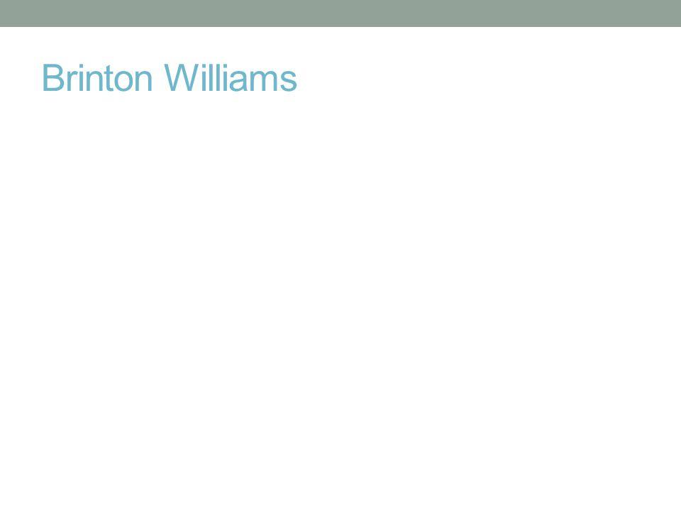 Brinton Williams
