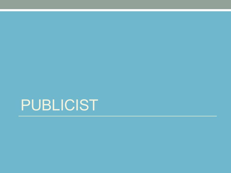 PUBLICIST