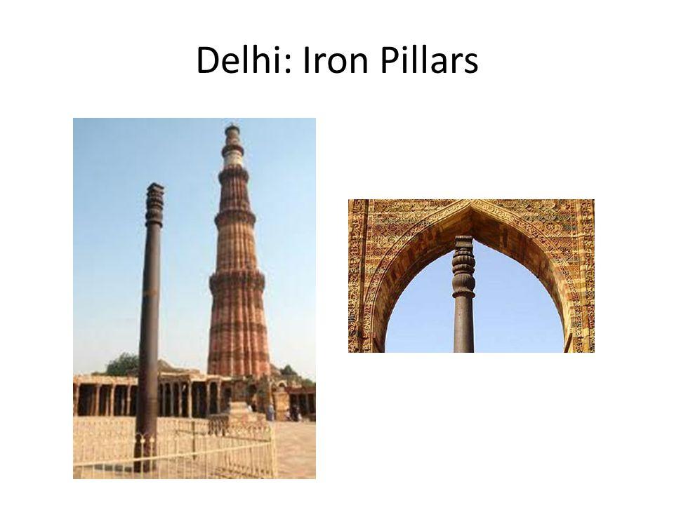 Delhi: Iron Pillars