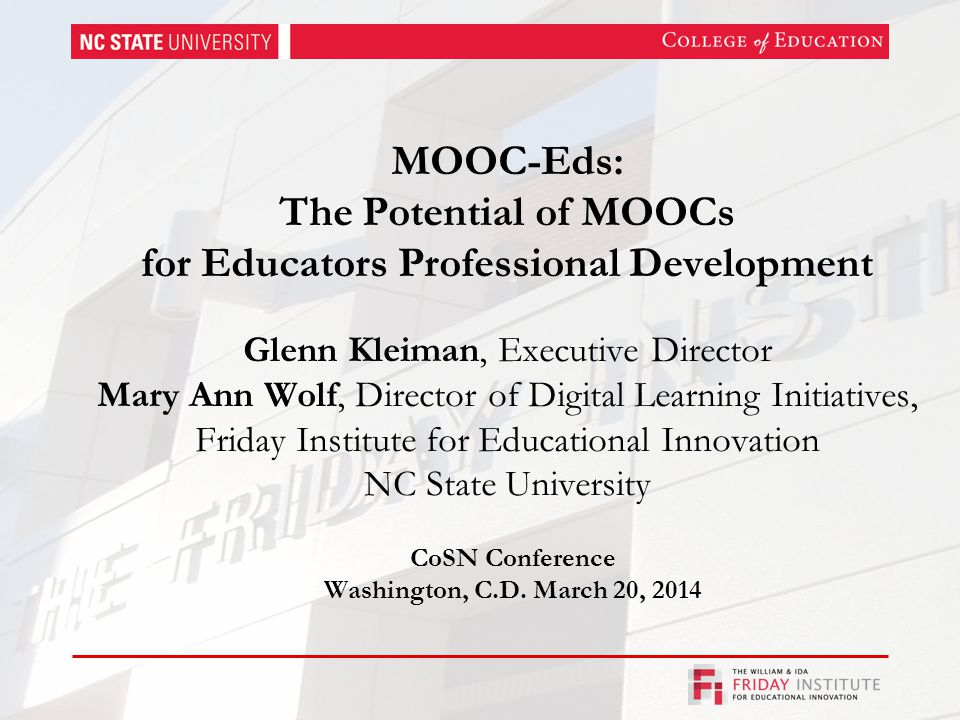 Two Parts of the DLT MOOC-Ed Part I: Where Are We Heading.