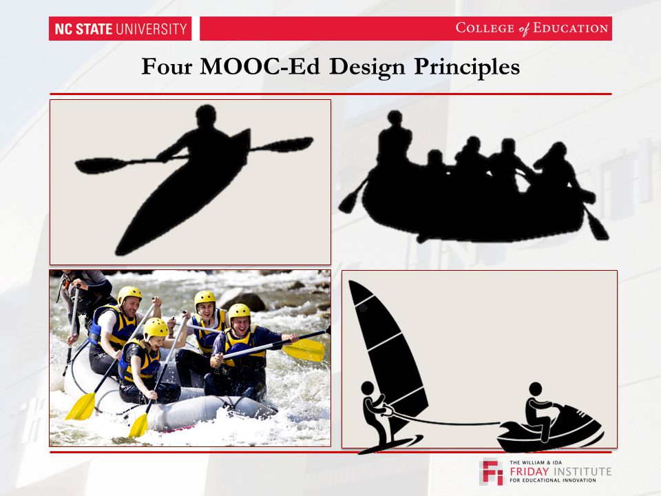 Four MOOC-Ed Design Principles