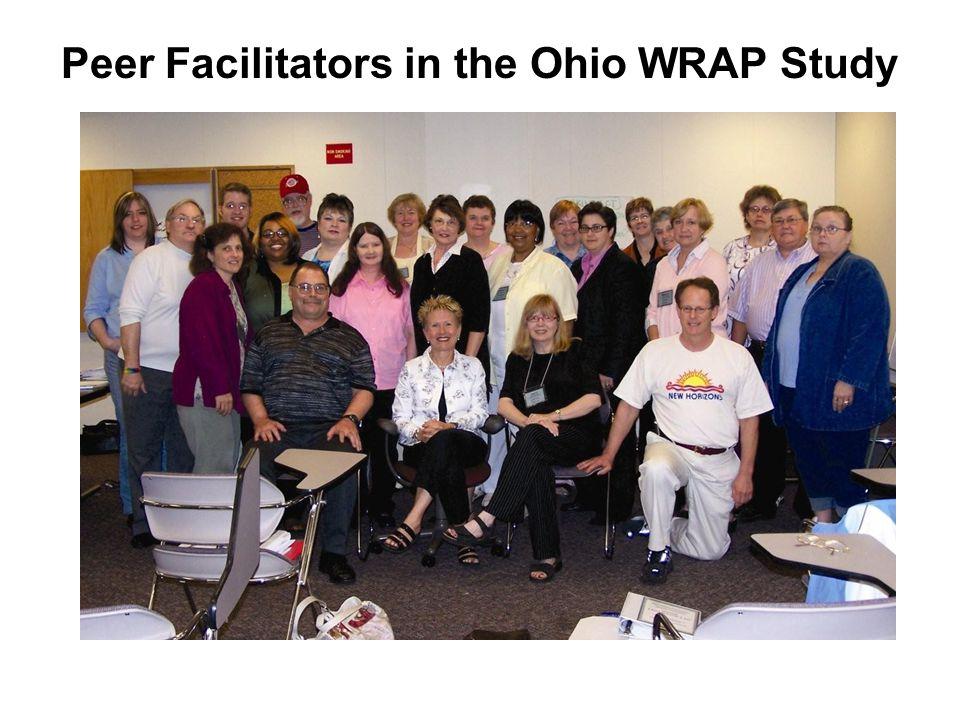 Peer Facilitators in the Ohio WRAP Study