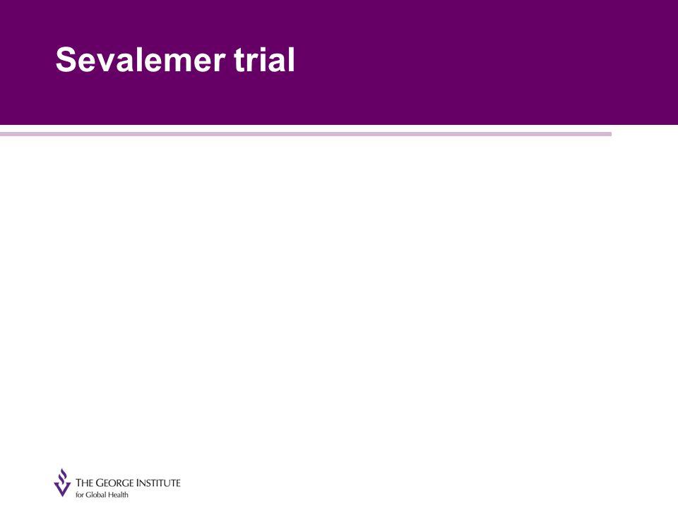 Sevalemer trial