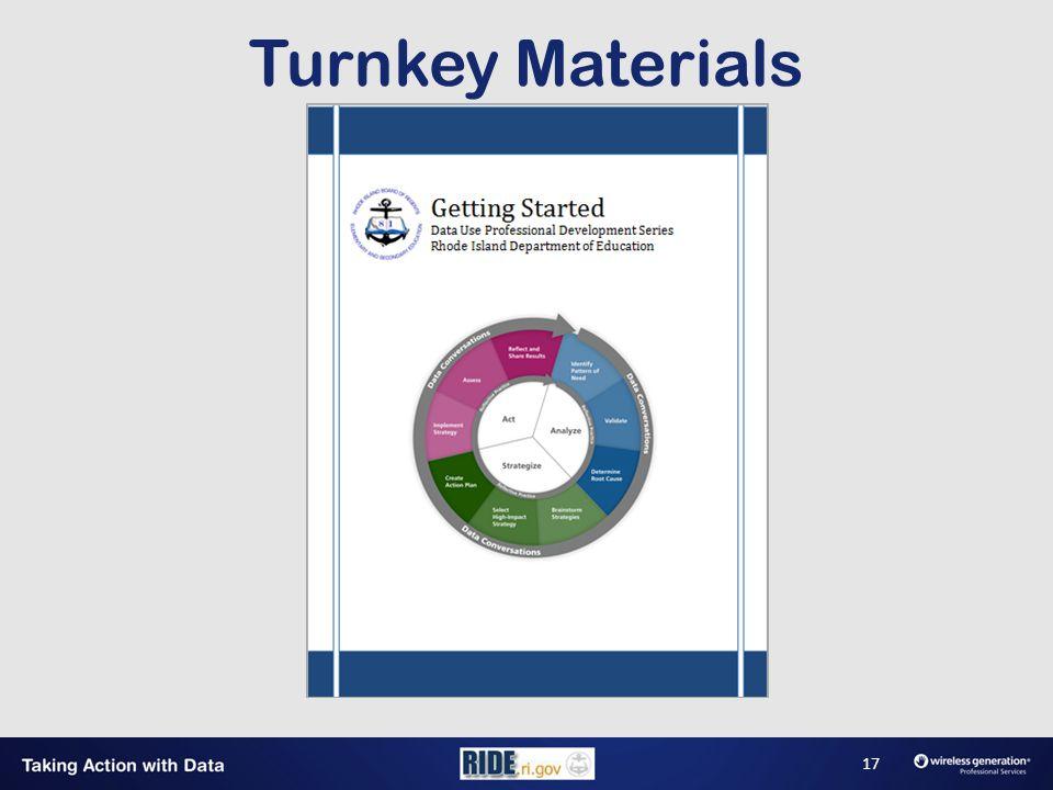 Turnkey Materials 17
