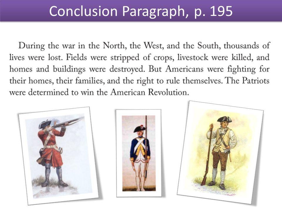 Conclusion Paragraph, p. 195