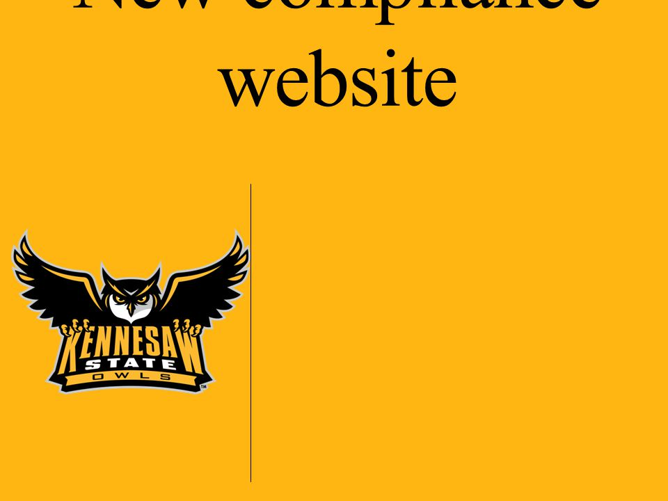 New compliance website