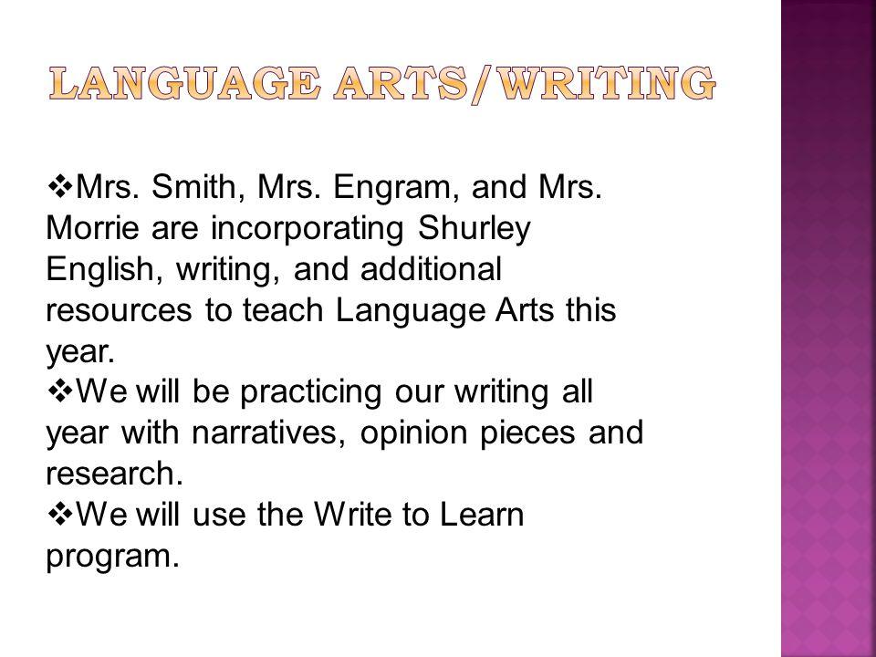  Mrs. Smith, Mrs. Engram, and Mrs.