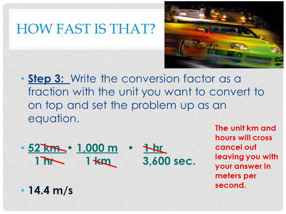 HOW FAST IS THAT.