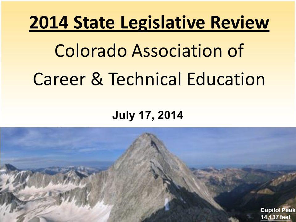 Career Training SB14-015 Hospitality Career Education Grant Program (Sen.