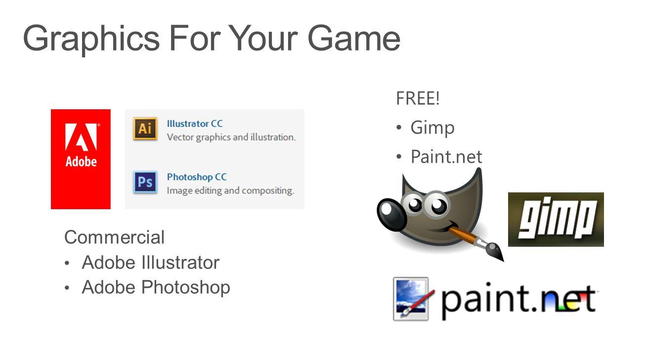 FREE! Gimp Paint.net