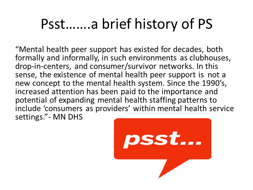 Peer Support and the Stress- Vulnerability Model The etiology of mental illness is a function of stress and genetic predisposition.