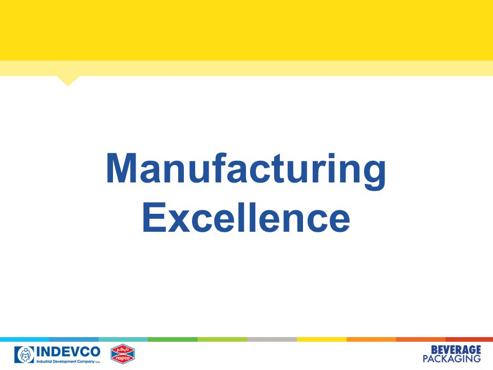 Manufacturing Excellence