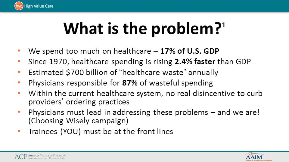 Healthcare Waste 2 Estimated $700 Billion of Healthcare waste annually $250-325B in Unwarranted use $75-100B in Provider inefficiency and errors $25-50B in Lack of care coordination