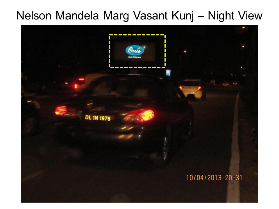 Nelson Mandela Marg Vasant Kunj – Night View