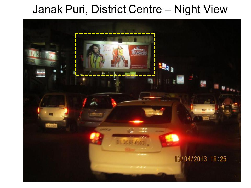 Janak Puri, District Centre – Night View