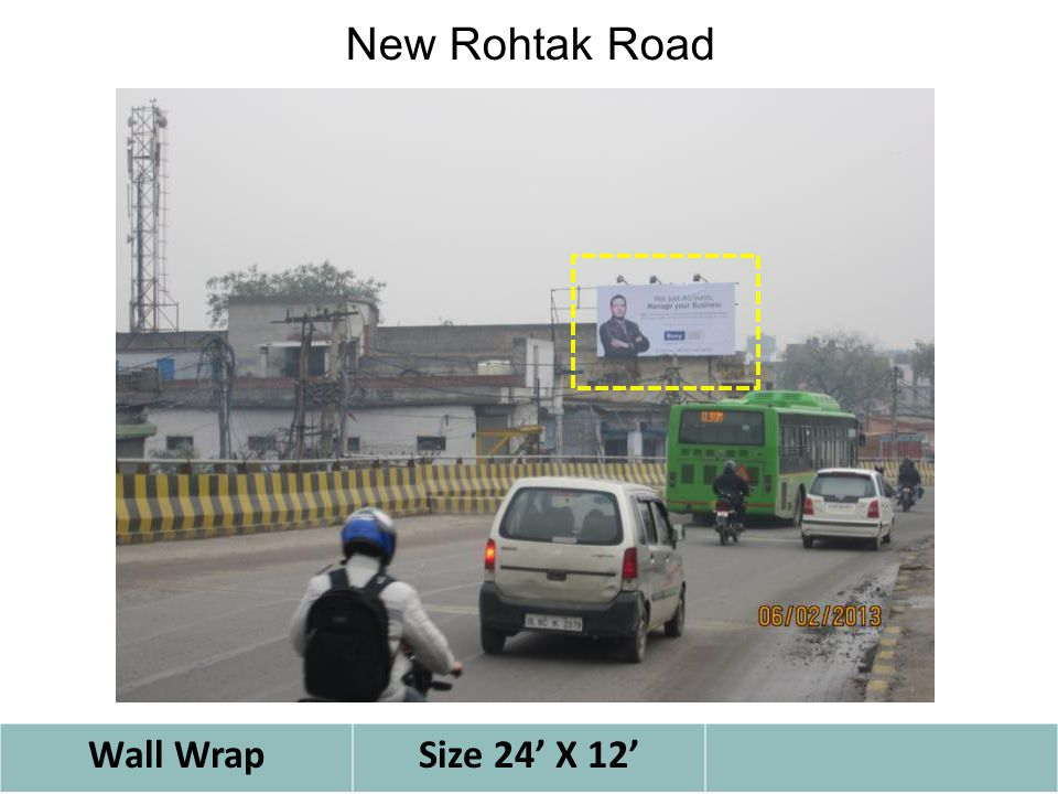 Wall WrapSize 24' X 12' New Rohtak Road