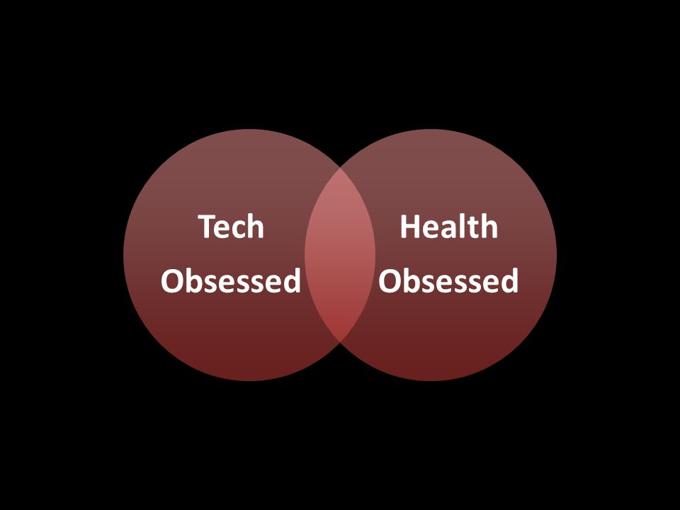 Tech Obsessed Health Obsessed QS