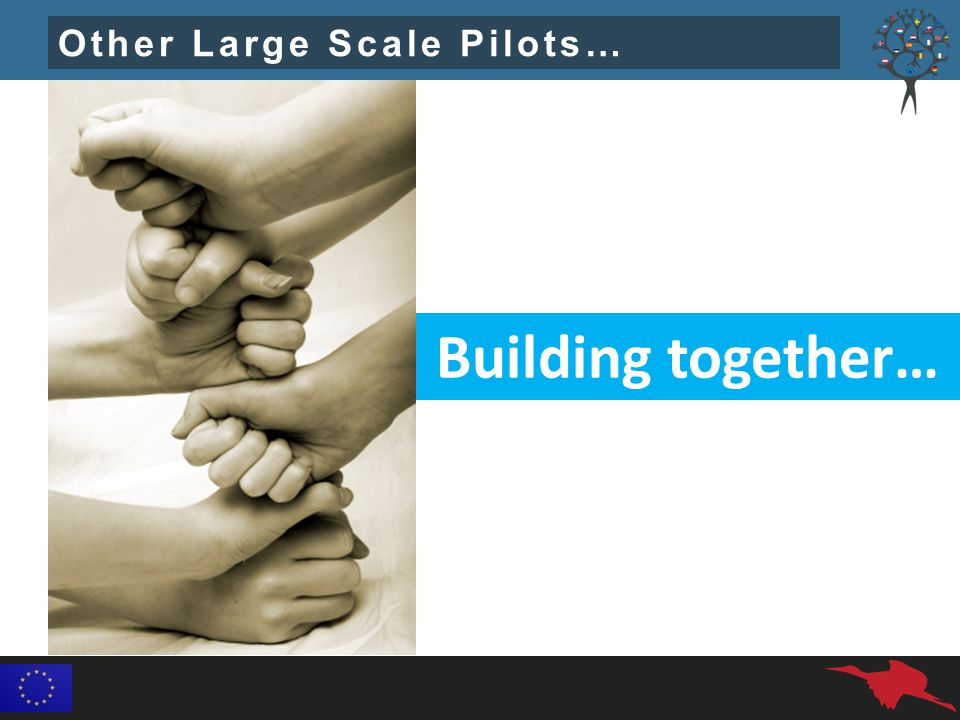 Other Large Scale Pilots… Building together…
